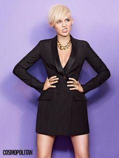 Miley Cyrus for Cosmopolitan magazine, March 2013