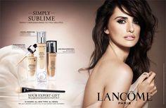 Beauty Ad, Fashion And Beauty Tips, Beauty Make Up, Penelope Cruz, Beauty Magazine, Magazine Ads, Event Poster Design, Luxury Cosmetics, Cosmetic Design