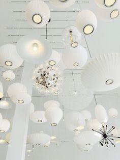 White lamps | laurennguyen | VSCO