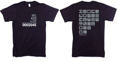 """For the truly committed or truly indecisive, the """"All Icons"""" tee is a great conversation piece to talk about about all the things we can do to make a difference. By wearing this tee you are committing to help build our sustainable future..."""