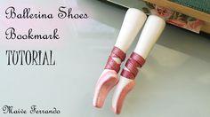 Polymer Clay Ballerina Shoes Bookmark Tutorial