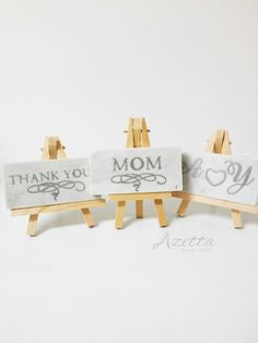 Marble Thank You Place Cards Wedding by AzettaDesignStudio  marble coaster, gold coasters, wedding charms, wedding favours, wedding gold, wood easels, tiles with lettering, decorated marble coasters white marble wedding Gold Coasters, Marble Coasters, Thank You Mom, Easels, Wedding Gold, Custom Stationery, Gold Wood, Wedding Place Cards, Wedding Favours