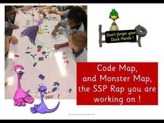 Monster Map your Rap ! The SSP Approach with Miss Emma - YouTube