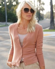 I really want a Pure Collection Cashmere cardigan.