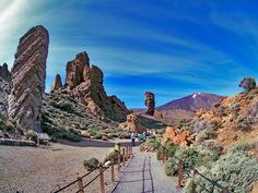 hiking into Parque Nacional, #Teide - Tenerife