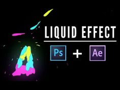 APRENDE A ANIMAR EN PHOTOSHOP - LIQUID EFFECT / EFECTO LIQUIDO - YouTube