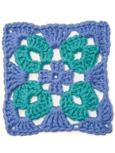 """crochet granny square ideas Examples of crochet patterns found in the """"When Granny Meets Filet"""" collection. Crochet Motifs, Granny Square Crochet Pattern, Crochet Squares, Crochet Granny, Crochet Blanket Patterns, Crochet Stitches, Granny Squares, Crochet Crafts, Crochet Projects"""