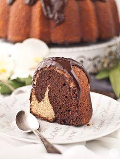 Jaleo en la Cocina: Bundt cake marmolado de chocolate y café, merienda perfecta