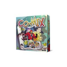 Co-Mix  Un juego narrativo como ninguno. En Co-Mix crea historias mediante el uso de cartas viñeta formando una página de cómic. Un juego para tirar de imaginación y echar unas risas.