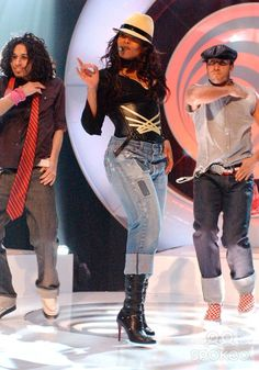 Janet Jackson LIVE at Top Of The Pops UK, 2004