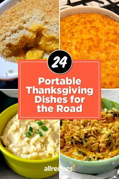 "24 Portable Thanksgiving Dishes for the Road | ""Ditch the delicate dishes and opt for heartier casseroles, stuffings, dips, and pies. From appetizers to dessert, we've rounded up the best portable Thanksgiving dishes for every stage of the meal."" #thanksgiving #thankgivingrecipes #makeahead Thanksgiving Potluck, Garlic Green Beans, Recipe Creator, Green Bean Recipes, Green Bean Casserole, Great Appetizers, Food Now, Serving Dishes, Casserole Dishes"
