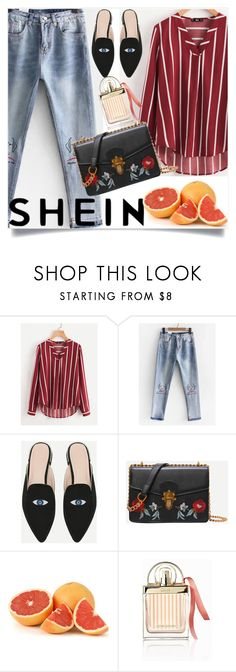 """Shein"" by blazuj ❤ liked on Polyvore featuring Chloé"