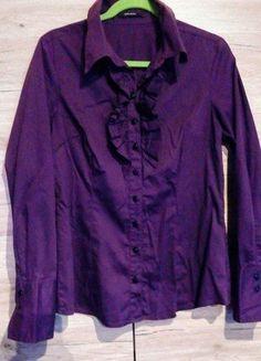 Kup mój przedmiot na #vintedpl http://www.vinted.pl/damska-odziez/koszule/16206114-elegancka-koszula-vero-moda-z-zabotem-r-m