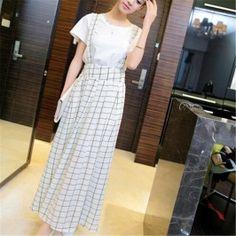 Of The New Wild Thin Long Skirt Strap Maxi Skirts White Latest Fashion For Women, Womens Fashion, Tiered Skirts, Maxi Skirts, White Skirts, Chiffon, Shirt Dress, Elegant