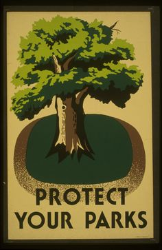WPA Posters, WPA Travel and WPA National Parks collections. These WPA posters were created during the New Deal. WPA posters are printed on cotton rag, archival papers. Wpa Posters, Poster Prints, Art Prints, Room Posters, Vintage Travel Posters, Poster Vintage, Vintage Prints, Vintage Style, Tree Art