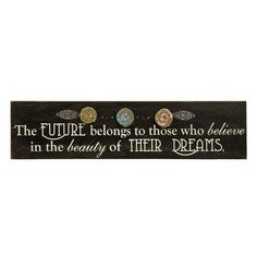Imax Embellished Wall Plaque - Beyond the Rack