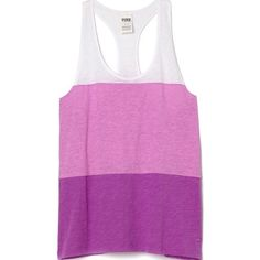 Medium PINK Extreme Racerback Tank Take on every hot day with this bright, lightweight tank. Breezy and cut a bit more dramatic than our classic racerback—this showy tank is cute on it's own or as a coverup, too! Only by Victoria's Secret PINK.  Relaxed, easy fit Extreme racerback shape Imported cotton/polyester PINK Victoria's Secret Tops Tank Tops
