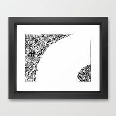 World II Framed Art Print by Lele Gastini - $42.00