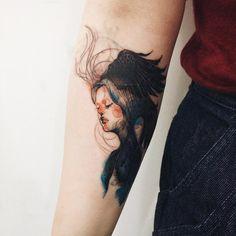""""""": Cover-up tattoo Dreamer #tattoo #tattooistdoy #tattooworkers…"""