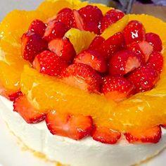 相方の誕生日に♪ - 18件のもぐもぐ - レアチーズケーキ by harumionodECu