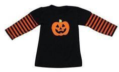 Unique Baby Unisex Pumpkin Shirt