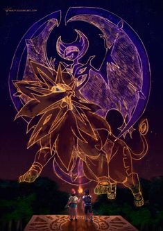 Pokemon Sun Moon -The Legends of Alola by neshirys.deviantart.com on @DeviantArt