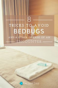 8 Tricks To Avoid Bedbugs… And 8 Other In Case Of An Encounter! Tips and tricks on how to avoid being bit by bedbugs, and in case you get bit, here's what to do! Fill Your Bucket, Rid Of Bed Bugs, Bed Bugs Treatment, Bed Bug Bites, Family Destinations, Travel Articles, Travel Tips, Human Emotions, Gap Year