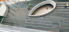 Waterproofing on a concrete slab