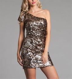 Glitter dress!! I think this the one I bought or something very similar for Vegas but have yet to wear it.