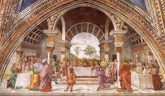 Artist: Domenico Ghirlandaio Name: Herod's Banquet Time: 1486-1490