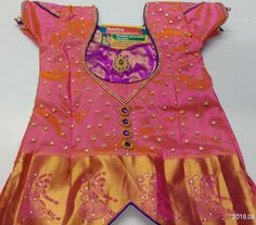 Baby Fancy Dress, Kids Dress Wear, Baby Girl Party Dresses, Kids Gown, Dresses Kids Girl, Girls Frock Design, Kids Frocks Design, Baby Dress Design, Lehenga Blouse