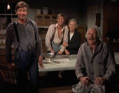 Smiles all around 😊❤️ The Waltons Tv Show, John Boy, Good Old Times, Family Show, Old Tv, Movie Tv, Tv Shows, My Love, Laura Ingalls