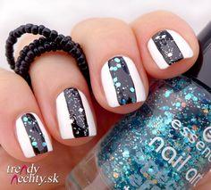 Essence 10 Glorious aquarius, nail art, nail design