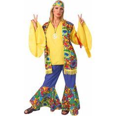 Adult Hippie Flower Childu0027s Costume  sc 1 st  Pinterest & Childu0027s Toddler Hippie Boy Costume (Size: 3-4T)-haha! ;) | Neat ...