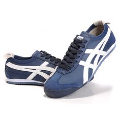 Introduced in 1966, the Mexico 66 from Onitsuka Tiger by ASICS were the first sneakers with the famous Tiger Stripes. They were worn at the Mexico Olympic Games in 1968. These sneakers are known for f