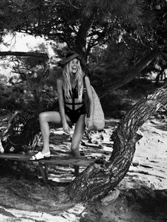 Vogue Netherlands - June 2013 - Doutzen Kroes. Photography: Josh Olins.