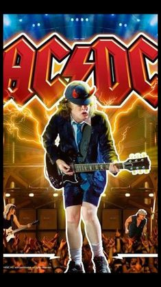 Sex , Games and Rock n' Roll Rock Posters, Band Posters, Concert Posters, Rock And Roll Bands, Rock N Roll, Ac Dc Rock, Rock And Roll History, Bon Scott, Angus Young