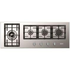Verona Designer Series 42 Inch Gas Cooktop - Front Control