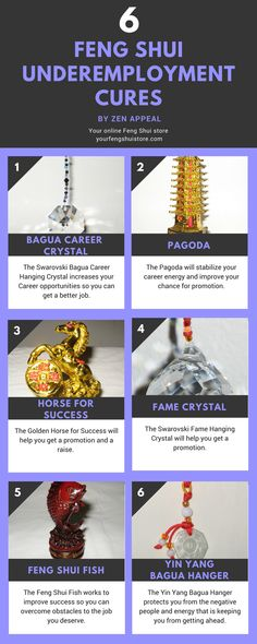 Feng Shui Underemployment Infographic. Feng Shui Jobs, Promotion and Career cures. http://www.yourfengshuistore.com/Business-Cures_c_14.html