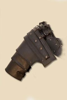 leather body armor shoulder | Ulric Leather Body Armour - Black, LARP Inn