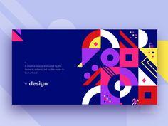 Header pattern exploration by Saikat Kumar Web Design, Game Design, Design Trends, Logo Design, Geometric Graphic Design, Graphic Design Inspiration, Design Brochure, Identity Design, Event Branding