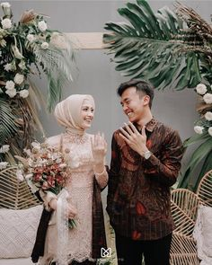 Please visit our website for Kebaya Wedding, Muslim Wedding Dresses, Wedding Photography Poses, Wedding Poses, Kebaya Hijab, Wedding Backdrop Design, Muslimah Wedding, Indonesian Wedding, Foto Wedding