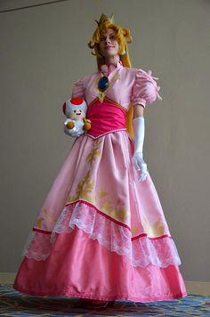 Princess Peach Cosplay by Ms.Mars, via Flickr