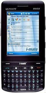 UNIVERSO NOKIA: i-Mate Ultimate 8502 Microsoft Windows Mobile 6.0 ...