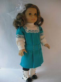 19141041 A Turquoise Dress for Rebecca by terristouch on Etsy