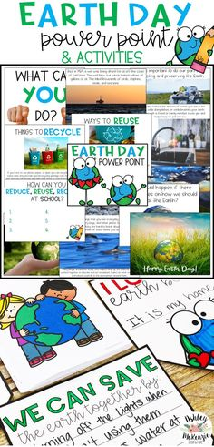 Help your students learn more about Earth Day with this Earth Day Power Point and Activities Pack! It includes Earth Day Readers and Banners.