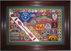 eagle scout court of honor display | Patch Display - Photo Gallery