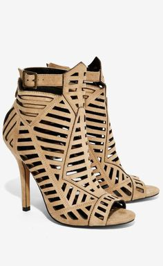 Dear Stitch Fix Stylist, I love the geometric cutout look of these shoes. I only wish they had a wedge heel.