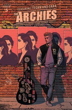 The Archies #5   After a wild, trippy ride to the 60s, the Archies find themselves back in the present day -- and facing a major meltdown as one of the members quits. Can indie pop sirens TEGAN AND SARA help the band through the crisis, or has the tour gone kaput?