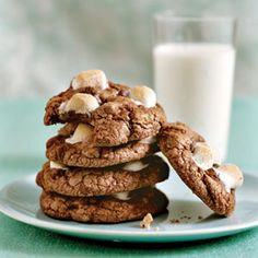 """Mississippi Mud Cookies. These are supposed to be a """"healthier"""" version. Looks interesting."""